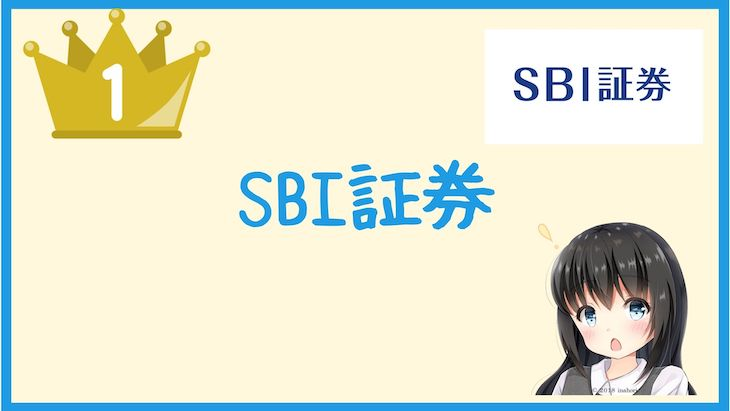 ideco1位:SBI証券